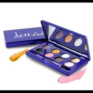 Acti-Labs Creme Eyeshadow Palette with Brush, New